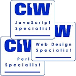 CIW certification logos